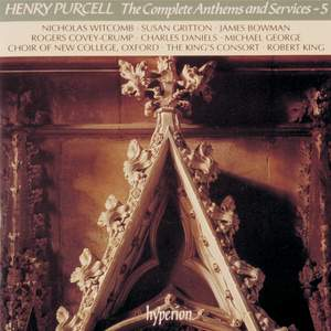 Purcell - The Complete Anthems and Services - 5