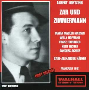 Lortzing: Zar und Zimmermann Product Image