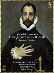 The Music of Don Quijote 1605