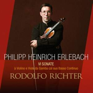 Erlebach: Six Sonatas for Violin & Viola da Gamba with bass continuo