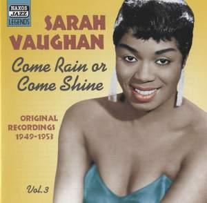 Sarah Vaughan - Come Rain or Come Shine
