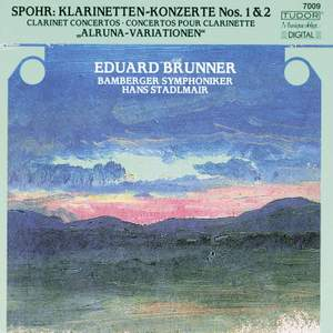 Spohr: Clarinet Concerto No. 1 in C minor, Op. 26, etc. Product Image