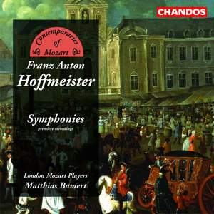Contemporaries of Mozart - Franz Anton Hoffmeister Product Image