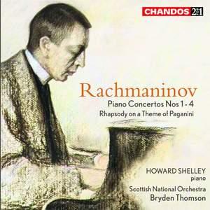 Rachmaninov: Piano Concertos Nos. 1-4 & Rhapsody on a Theme of Paganini