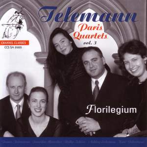 Telemann: Paris Quartets, Volume 3