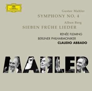 Mahler: Symphony No. 4 & Berg: Sieben frühe Lieder Product Image