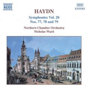 Haydn - Symphonies Volume 20