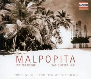 Goehr, W: Malpopita Product Image