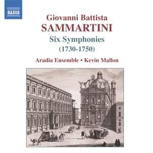 Giovanni Battista Sammartini - Six Symphonies