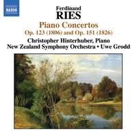 Ries - Piano Concertos Volume 1