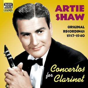 Artie Shaw - Concertos for Clarinet Product Image
