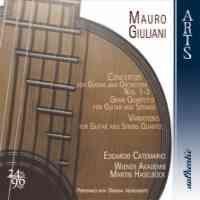 Giuliani: Guitar Concertos, Gran Quintetto, Variations
