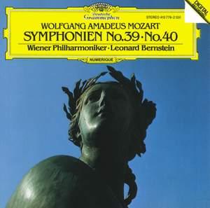 Mozart: Symphonies Nos. 39 & 40 Product Image