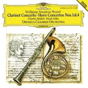 Mozart: Horn Concerto No. 1 in D major, K412 (K386b), etc. Product Image