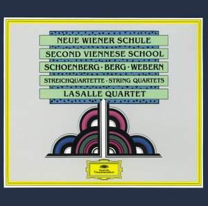 Schoenberg: String Quartet No. 1 in D minor, Op. 7, etc.