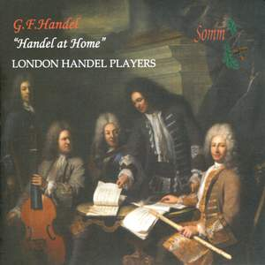 """Handel at Home"" – Arias arranged for flute, strings & harpsichord"