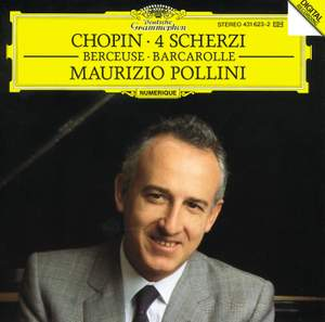 Chopin: Scherzi, Berceuse & Barcarolle Product Image