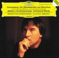Schoenberg: A Survivor from Warsaw, Op. 46 & Webern: Orchestral Works