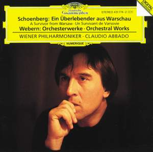 Schoenberg: A Survivor from Warsaw, Op. 46 & Webern: Orchestral Works Product Image