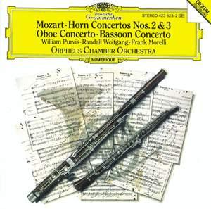 Mozart: Horn Concertos Nos. 2 & 3