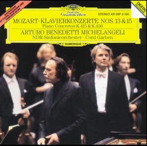 Mozart: Piano Concertos Nos. 13 & 15 Product Image