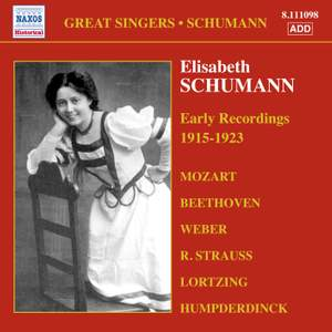 Great Singers - Elisabeth Schumann