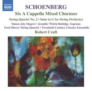 Schoenberg: Selected Works