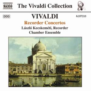 Vivaldi - Recorder Concertos