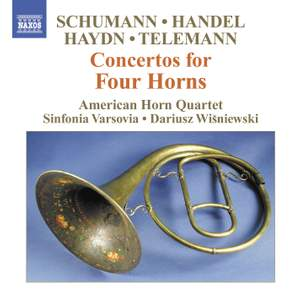 Concertos for Four Horns Product Image