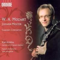 Molter & Mozart: Clarinet Concertos