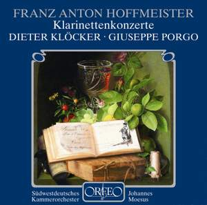 Hoffmeister: Concertos for Clarinet