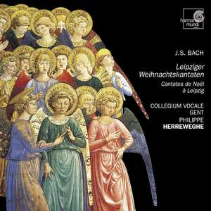 J S Bach: Christmas Cantatas from Leipzig Product Image