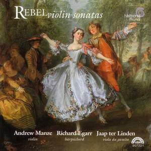 Rebel, J-F: Violin Sonatas Product Image