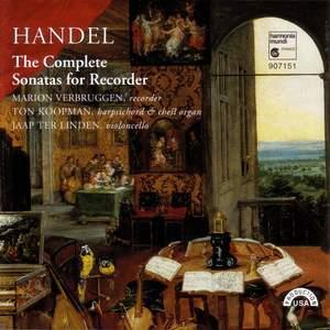 Handel: Complete Sonatas for Recorder