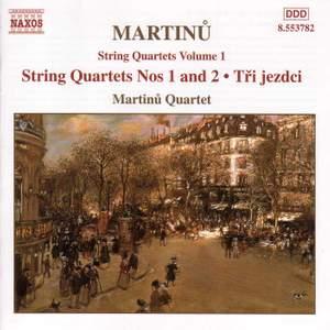 Martinu - String Quartets Vol. 1