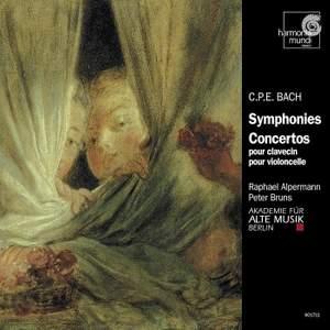 Bach, C P E: Symphony in E flat major, Wq. 179 (H654), etc.