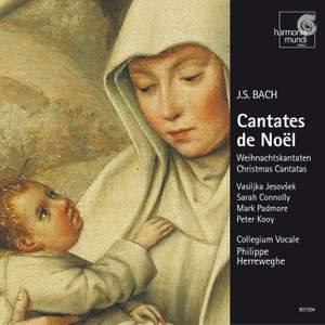 J S Bach - Christmas Cantatas Product Image