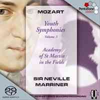Mozart - Youth Symphonies Volume 3