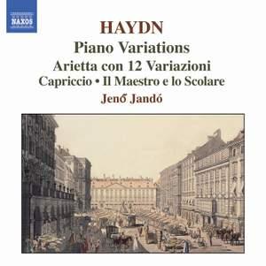 Haydn - Piano Variations