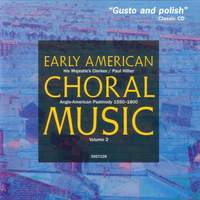 Early American Choral Music Volume 2