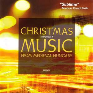 Christmas Music from Medieval Hungary