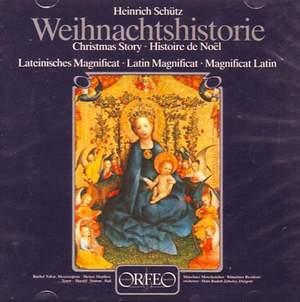 Schütz: Weihnachts-Historie & Magnificat Anima Mea Dominum Product Image