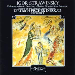 Stravinsky: Symphony of Psalms, Deux Poèmes de Paul Verlaine & other works