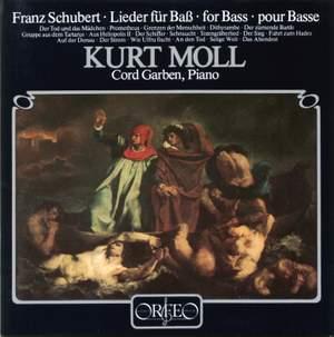 Schubert: Lieder for Bass