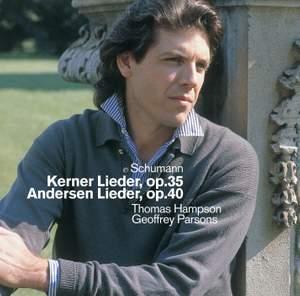 Schumann: Gedichte (12) von Justinus Kerner Op. 35, etc.