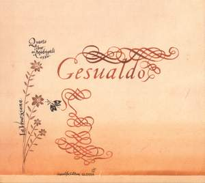 Gesualdo: Madrigali libro quarto, 1596
