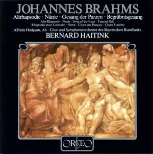 Brahms: Alto Rhapsody, Nänie, Gesang der Parzen & Begräbnisgesang