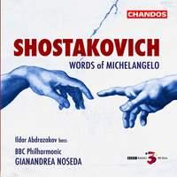 Shostakovich: Words of Michelangelo
