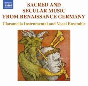 Sacred Songs and Folk Music from Renaissance Germany Product Image