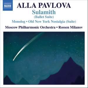 Alla Pavlcva: Orchestral Works